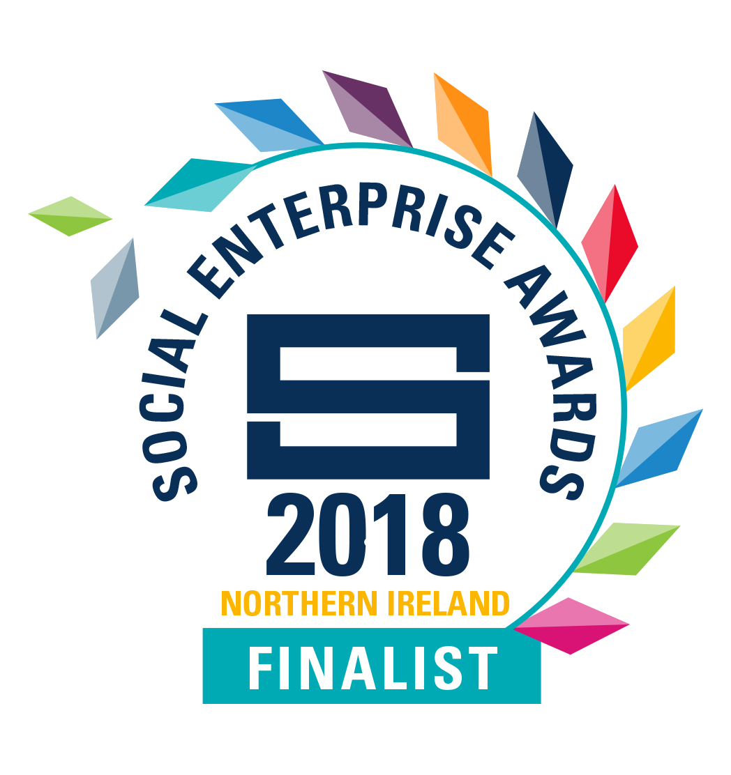 Proud to be shortlisted in The Social Enterprise Awards NI 2018